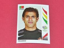 284 RICARDO PORTUGAL PANINI FOOTBALL GERMANY 2006 WM FIFA WORLD CUP