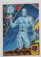X-MEN 1994 Fleer Ultra - Triptych Wal-mart Red Foil - #4 Gold Team Iceman