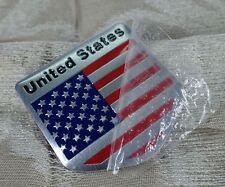 US USA Flag Sticker American Emblem Badge Decal New Car Auto Logo Universal
