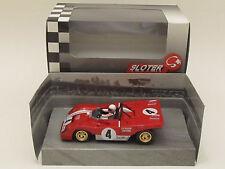 Sloter 400104 Ferrari 312 PB Daytona 1972 #4 C Regazzoni B Redman 1:32 Slot Car