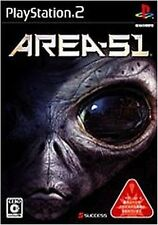 Used PS2  Area 51   SONY PLAYSTATION JAPAN IMPORT