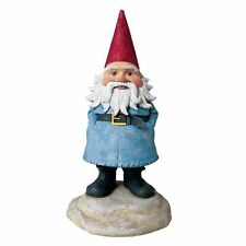 "TRAVELOCITY The ROAMING GNOME New 8"" Garden Yard Lawn Travel Buddy Selfie Statue"