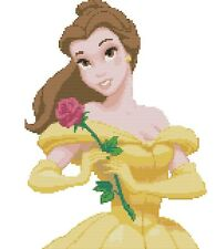 Beauty & The Beast -Belle Counted Cross Stitch Kit Disney Character Free P&P