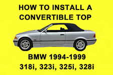 BMW 328i, 323i, 325i, 328i (1994-1999) How to Install a Convertible Top on DVD