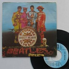 """Vinyle 45T The Beatles  """"Sgt. Pepper's lonely hearts club band"""""""