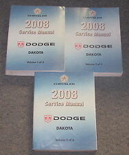 2008 Dodge Dakota Truck Service Manual Set