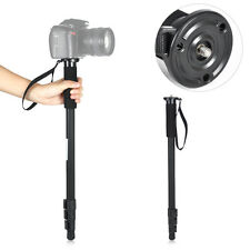 "63"" Photo Lightweight Portable Monopod WT-1003 + Bag For Canon EOS Nikon DSLR"