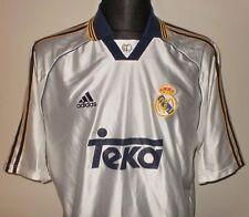 REAL MADRID CF 1998/99/2000 Vintage adidas Home Shirt Jersey Camiseta Trikot XL