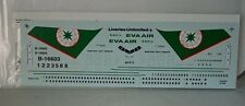 Liveries Unlimited A2-013 Boeing 767-300ER Eva Air Limited Decal in 1:200 scale