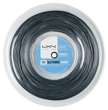 Luxilon BIG BANGER ALLUMINIO POWER ROUGH 1,25 mm 16L Tennis Stringhe 220M REEL