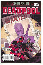 Deadpool 7 2nd Series Marvel 2009 NM- Uncanny X-Men 141 Cover Bob Agent Hydra