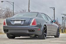 20x9 20x11 +28 Rohana RC22 5x114 Black Rims Fit Maserati Quattroporte 2007 5x4.5