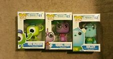 Pop funko monster university mike wazowski sulley randall boggs