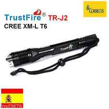 LINTERNA LED  TR-J2 CREE XM-L T6 1000LM SUBMARINISMO BUCEO PESCA IPX8 SUMERGIBLE