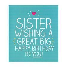 Gran Gran Feliz Cumpleaños Hermana Tarjetas - De Brother o hermana, Para Ella