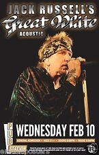 JACK RUSSELL'S GREAT WHITE ACOUSTIC 2016 MONTANA CONCERT TOUR POSTER - Hard Rock