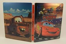 STEELBOOK Disney Pixar Cars 3D Light Used Blu-Ray Region All