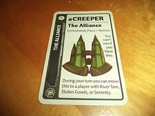 Fluxx The Alliance New Creeper Promo Card Looney Labs Games