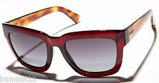 Authentic Women's VZ Von Zipper Juice Maroon Tort Sunglasses. RRP $159.99. NWT.