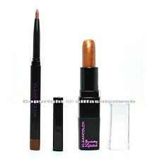 2 Colors Kleancolor 1 Eye Lip Liner Auburn + 1 Creamy Lipstick Copper LINERK12