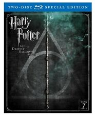 Harry Potter and the Deathly Hallows Part 2 Blu-Ray 2 Disc Special Edition NEW
