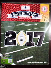 Official College Football White 2017 CFP Championship Game Patch Worn By Clemson