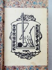2 Rare BILLIARDS & ARMORIAL BOOKPLATES from NEVERS, NIEVRE, FRANCE in 1834 Book