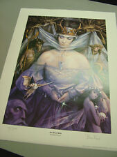 Brian Froud -- The Wood Wife  -- #126 of 1,500 -- Mithril, 1994, COA