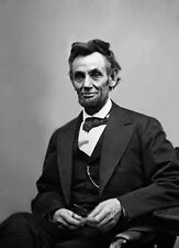"""President Abraham (Abe) Lincoln 8""""x10"""" Photograph Picture"""