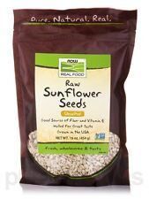NOW� Real Food - Raw Sunflower Seeds, Unsalted - 16 oz (454 Grams) by NOW