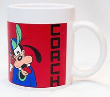 Disney Goofy Cup / Mug Coach Can't Find His Whistle