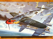 KA Models 1:48 Messerschmitt Bf 109 G-6 'Red Tulip' Aircraft Model Kit