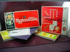 COMPLETE Vtg 1962 & 1972 AGGRAVATION & DELUXE PARTY EDITION MARBLE BOARD GAME