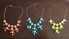 J Crew Lot Of Three Bubble Necklace