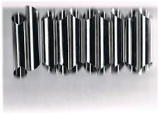 10 stampi per cannoli siciliani in alluminio per frittura e per forno a punta