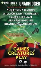 Games Creatures Play by Charlaine Harris and Toni L. P. Kelner (2014, MP3 CD,...