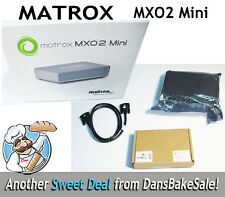 Matrox MXO2 Mini MX02MINI/R Refurbished Unit Includes PCIe Cable, Adapter
