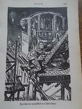 Original 1936 Print by CYRUS CUNEO Book Illustration from ROOUM
