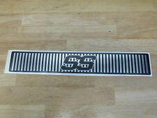 Club Car  Golf Car Custom SS Grill Name Plate fits Precedent and DS Models