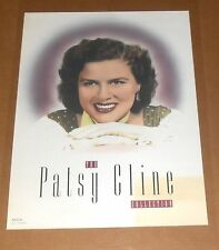 The Patsy Cline Collection Poster Original 1991 Promo 24x18