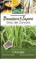 BUSTINA SEMI DI  CITRONELLA GR 0,3 stop alle zanzare