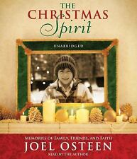 NEW! Joel Osteen The Christmas Spirit  [Audiobook]