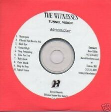 (143X) The Witnesses, Tunnel Vision - DJ CD