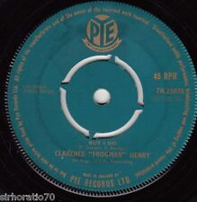 "CLARENCE ""FROGMAN"" HENRY But I Do / Just My Baby And Me 45"
