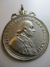 """MEDALLA RELIGIOSA PAPA  PIO VI - HOSPICIO DE """"SAN MICHELE A RIPA"""" - ROMA 1796"""
