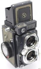 Yashica 44 LM 44LM Baby Grey 127 Roll Film TLR Camera w/ Yashinon 60mm F3.5 Lens