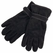Men's Fleece Insulation Windproof Thermal Warm Winter Ski Hike Gloves One Size