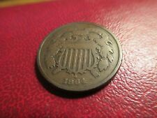 Coins - US  1864 Two Cent
