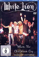 WHITE LION - WHEN THE CHILDREN CRY DVD (NEU & OVP)
