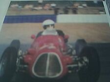 ephemera picture - john may maserati A6GCM